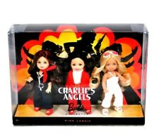 Barbie Pink Label Collectors Charlie's Angels Dolls Gift Set Rare Collectors