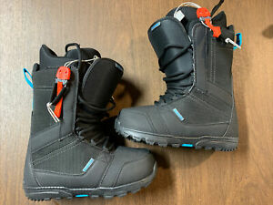 Burton 2020 Invader Snow Board Boots Mens 8.5 - Worn For 1 Hour - Perfect Shape