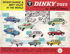Dinky toy Original catalogue 1964 Canada 8 pages + PRICE LIST No. 72550/42