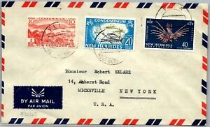 GP GOLDPATH: NEW HEBRIDES COVER 1965 AIR MAIL _CV674_P04