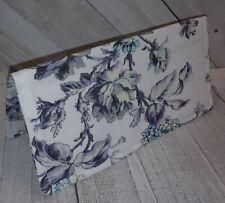 Garden Rose Fabric Checkbook Cover Wallet Document Coupon Organizer USA Handmade