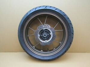 Honda CB125R 2021 2,171 miles rear wheel with tyre and brake disc (5650)