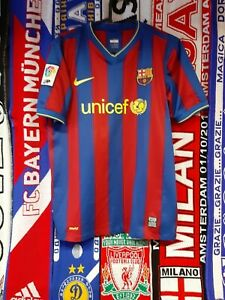 Maglia Calcio Barcellona 2009/10 Shirt Trikot Camiseta Maillot Jersey Barcelona