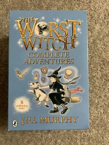 The Worst Witch 8 Books Complete Adventures Collection Jill Murphy