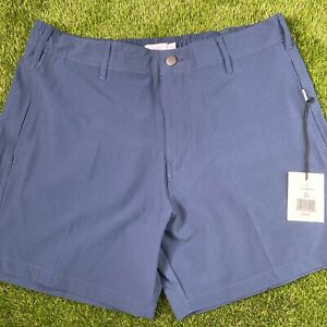 """Onia All Purpose Stretch 6"""" Shorts Navy Large $120"""