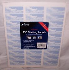 150 Ampad Adhesive Laser Printer Labels Print or Write NEW Clouds Sky Dreamy