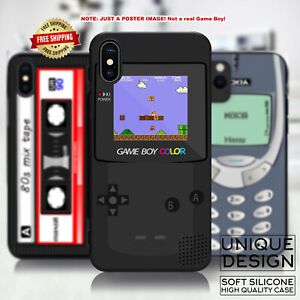 Retro Video Game Boy Poster Design Appearance Phone Case Samsung Galaxy iPhone