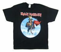 Iron Maiden Uncle Sam Tour 2013 Black T Shirt New Official