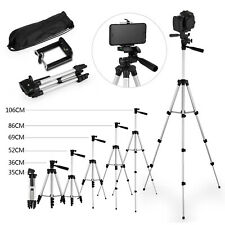"""42"""" Professional Camera Tripod Stand Holder Mount for iPhone/Samsung Cell Phone"""