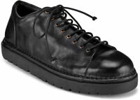 Marsèll MWG350 NERO Women's laced shoes black leather made in Italy UK 5 - IT 38