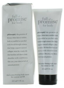 full of promise by philosophy for Women firming body cream 7.5 oz. NEW