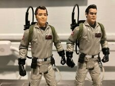 Ghostbusters Peter Venkman and Ray Stantz Figures with Proton Packs Mattel