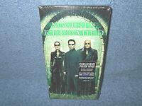 MATRIX RELOADED VHS 2003 - KEANU REEVES - LAURENCE FISHBURNE - NEW SEALED