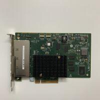 LSI 9201-16e  SAS9201-16e 6Gbps Quad Port Host Bus Adapter SAS HBA Card