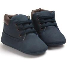 Baby Toddler Soft Sole Leather Shoes Infant Boy Girl Toddler Shoes Black 11