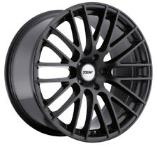 18x8.5 TSW Max 5x112 Rims +43 Matte Black Wheels (Set of 4)