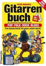 Gitarrenbuch 1. Mit DVD und CD von Peter Bursch (2015, Kunststoffeinband)