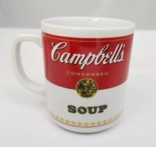 Vintage Campbell's Condensed Soup Coffee Mug Tea Cup 1981 Porcelain Corning