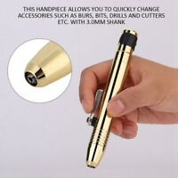 Jewellery Rotary Quick Change Handpiece Flex Shaft 2.35mm Shank Toolfor Foredom