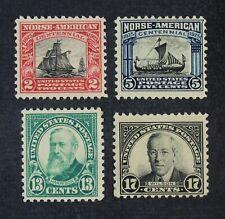 Ckstamps: Us Stamps Collection Scott#620-623 Mint H Og
