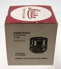 LEICA nur Verpackung only original box Summicron-R 2/35 35 35mm F2 2 11115 /18