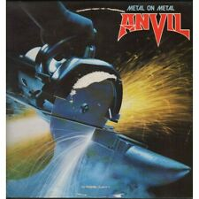 Anvil Lp Vinile Metal On Metal / Attic A 120 AT 1130 Nuovo Francia