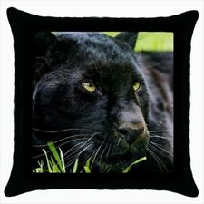 Black Panther Throw Pillow Case