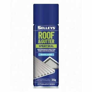 Selleys 315g Roof and Gutter Spray Seal