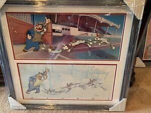 "Virgil Ross Bugs Bunny ""Yer Out!"" 1 Of 1 Cel And Sketch Color Model Warner Bros."