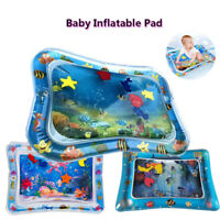 Baby Water Play Mat Inflatable Fun Activity Play Center Kids Underwater   !8!