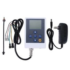 "DIGITEN Water Flow Control Quantitative LCD Display+G2"" Sensor Meter+Power 110V"