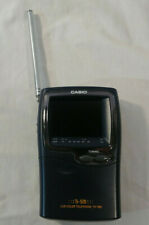 Casio Handheld Ti-Stn LCD Color Television TV-980B Portable TV Analog