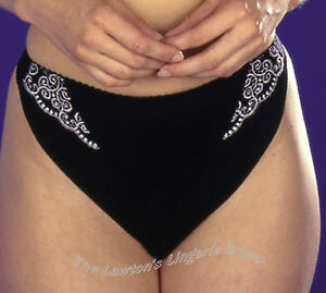 Silhouette Bellamisto Thong 8100 in  Black/Gold