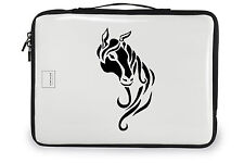 Horse decal, tribal horse riding vinyl sticker, horse vinyl decal