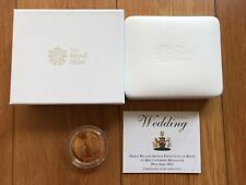 2011 William and Kate Royal Wedding Commemorative Gold Plated Silver Proof Coin