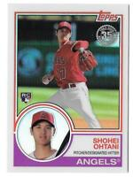 SHOHEI OHTANI 2018 Topps Series 2 1983 CHROME Silver Pack Refractor Angels RC 51