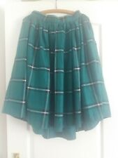 Collectif Skirt Size 16 Rockabilly  Swing 1950S Pin Up Lindy Bop MOD Tartan