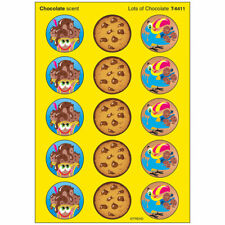 Lots of Chocolate/Chocolate Stinky Stickers® – Large Round Trend Enterprises Inc