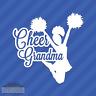 Cheer Grandma Granny Vinyl Decal Sticker Cheerleading Squad