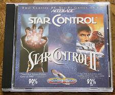 Star Control I 1 et II 2 (PC CD-ROM)