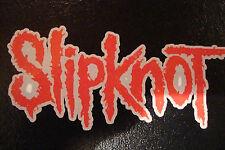 """2 Slipknot 4.5 """"decals/stickers Rock banda de música Guitarra Moto Cascos"""