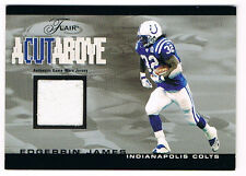 2003 Flair Cut Above Edgerrin James 298/500 Game Used Jersey Indianapolis Colts