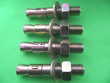 M16 X 90 MM THROUGH BOLTS / WEDGE ANCHORS PACK OF 4
