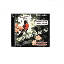 Sabbath Songs for Tiny Tots Kindergarten Accompaniment Music CDs