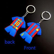 16-17 keychain For Barcelona # 10 Messi soccer sport fans PVC keyring JS-8843