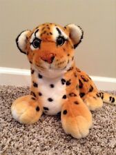 Jaguar Plush Stuffed Animal Toy Burton+Burton Wildlife