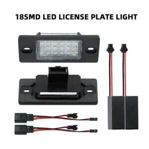 02-09 For Porsche Cayenne Xenon White Rear Bumper LED License Plate Tag Lights