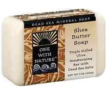 One With Nature Shea Butter Dead Sea Mineral Soap 7 oz