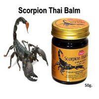 50 g. ORIGINAL Thai Massage Scorpion Balm Arthritis & Arthrosis Pain Relief HOT!