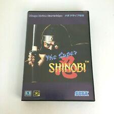 The Super Shinobi with Box and Manual [Sega Mega Drive Genesis Japanese ver]
